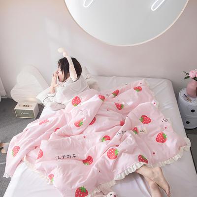 2019新款水洗棉公主风夏被 150x200cm 瑾宣