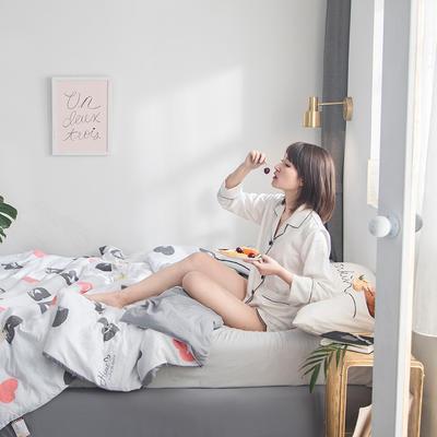 2019新款水洗棉印花夏被 150x200cm 克莉丝