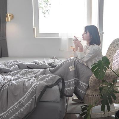 2019新款水洗棉印花夏被 150x200cm 塞恩