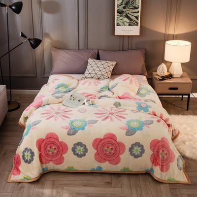 2019新款法莱绒毛毯 0.7*1.0 爱丽丝