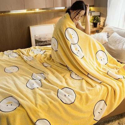 2019新款法莱绒毛毯 0.7*1.0 快乐精灵