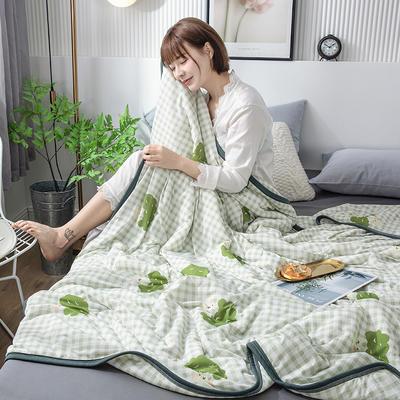 2020新款玻尿酸凉感丝夏被 150x200cm 萌宝乐园
