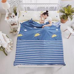 纯棉隔脏睡袋 爱在雨季80*230cm