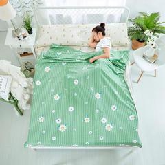 纯棉隔脏睡袋 小雏菊-绿160*230cm