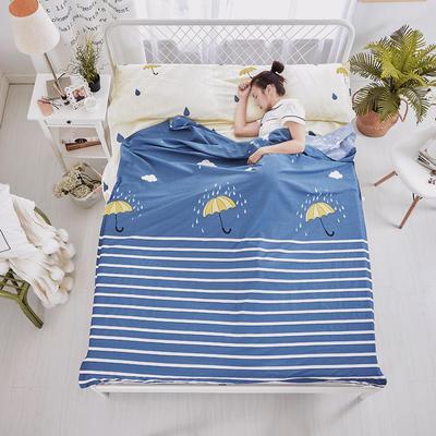纯棉隔脏睡袋 爱在雨季180*230cm