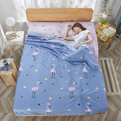 2020新款纯棉隔脏睡袋 爱情鸟80*230cm