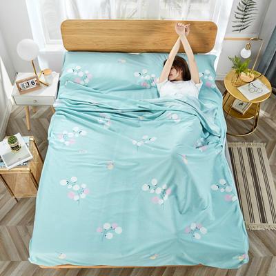 2020新款纯棉隔脏睡袋 豆蔻年华80*230cm
