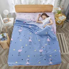 2020新款纯棉隔脏睡袋 爱情鸟120*230cm
