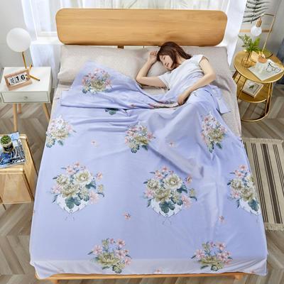 2020新款纯棉隔脏睡袋 国色天香120*230cm