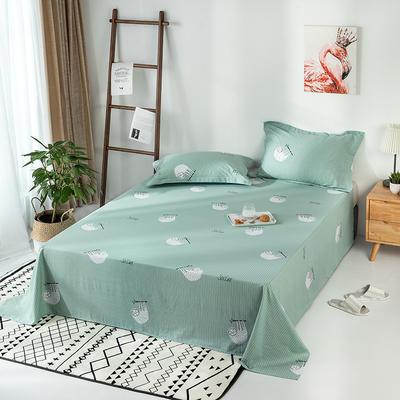 2020新款全棉印花单品床单 160cmx230cm 绿野仙踪