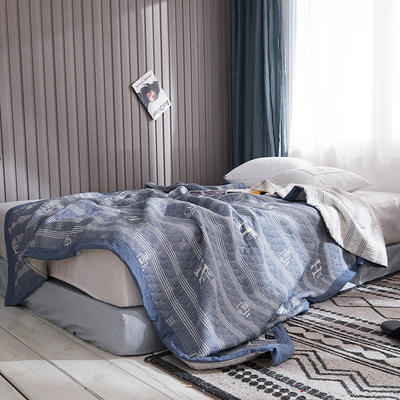 209新款三层纱夏被盖毯 150x200cm 艾米