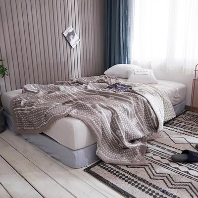 209新款三层纱夏被盖毯 150x200cm 路易斯古堡