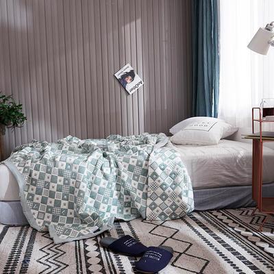 209新款三层纱夏被盖毯 150x200cm 魅丽之范