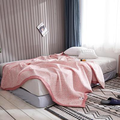 209新款三层纱夏被盖毯 200X230cm 英致