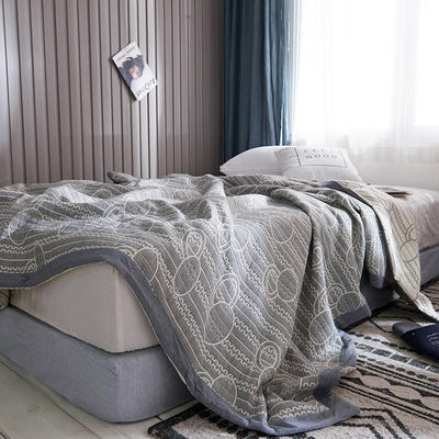 209新款三层纱夏被盖毯 150x200cm 圆舞曲