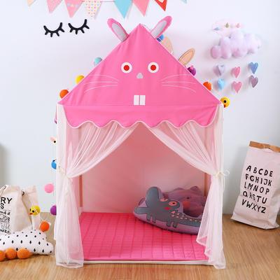 儿童帐篷儿童玩具屋分床神器小房子室内游戏乐园 125*95*140cm 小兔子