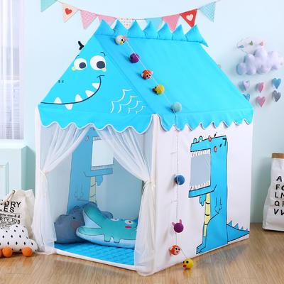 儿童帐篷儿童玩具屋分床神器小房子室内游戏乐园 125*95*140cm 恐龙
