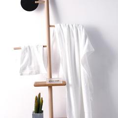 2018新款浴巾  80*160cm 白