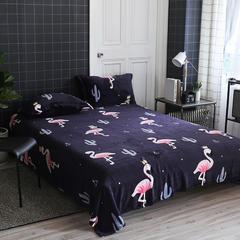 法莱绒毛毯 150*200cm 火烈鸟