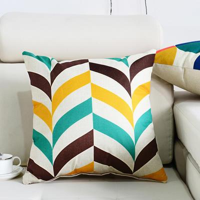 棉麻抱枕-图文系列 45x45cm P2