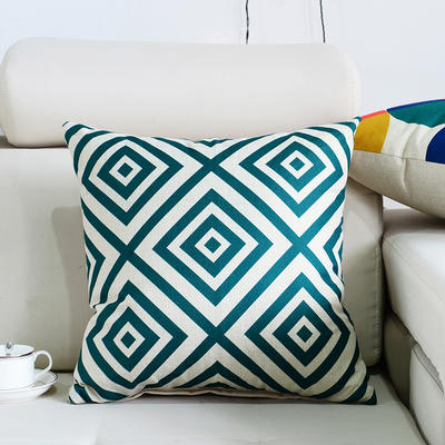 棉麻抱枕-图文系列 45x45cm P5
