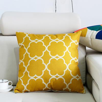 棉麻抱枕-图文系列 45x45cm P7