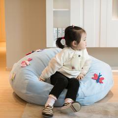 sweet同款懒人沙发 95*45cm 蝴蝶蓝色