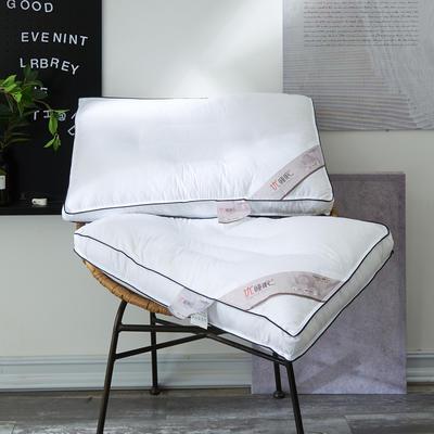 2019新款全棉立体优质睡眠定型枕芯 48x74cm 白色/只
