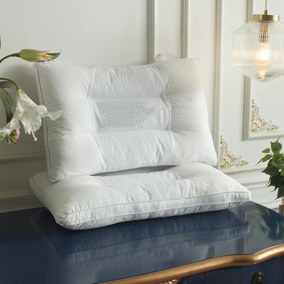 2019新款全棉立體透氣決明子經典護頸枕芯 48*74cm