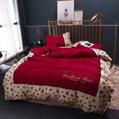 2019新款60长绒棉系列四件套 1.5m(4英尺)床 3
