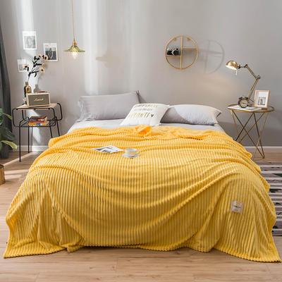 2019新款魔法绒绒毯毛毯 100*120cm 奥丁金