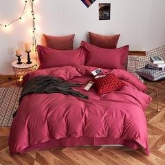 2019新款喷气清棉四件套 1.5m(5英尺)床 贵族紫