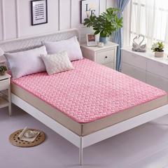2017法莱绒床垫 60*120cm 粉色