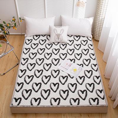 2021新款宽包边13372全棉韩国软床垫床褥 120*200cm 酷爱