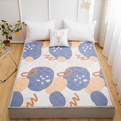 2021新款宽包边13372全棉韩国软床垫床褥 120*200cm 涂鸦时代