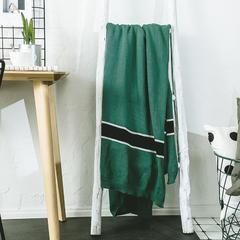 2019新品全棉盖毯利罗森-麦吉 130x180cm 绿色