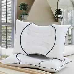 2018新款新款双U型决明子磁疗护颈枕 白色