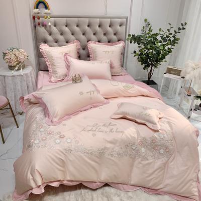 2020新款埃及長絨棉艾莉兒 1.5m(5英尺)床 粉色