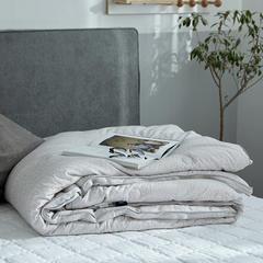 2018新款秋冬暖绒被芯纯棉色纺纱优享冬被 200X230cm8.2斤 咖色