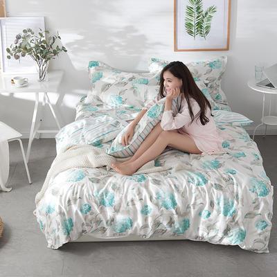 2019新款-全棉13372印花四件套 1.5m(5英尺)床 优然