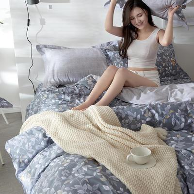 2019新款-全棉13372印花四件套 1.5m(5英尺)床 争上游