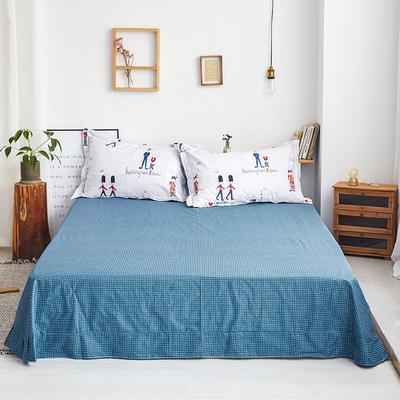 2019新款-全棉13372印花单品床单 160cmx230cm 骑士