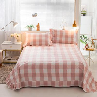 2019新款-全棉13372印花单品床单 270cmx245cm 甜甜的梦