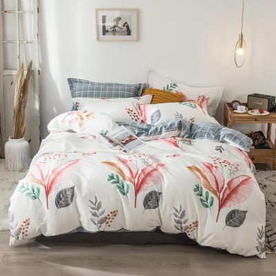 2020新款-小清新ins风四件套 床单款四件套1.5m(5英尺)床 斯里兰卡