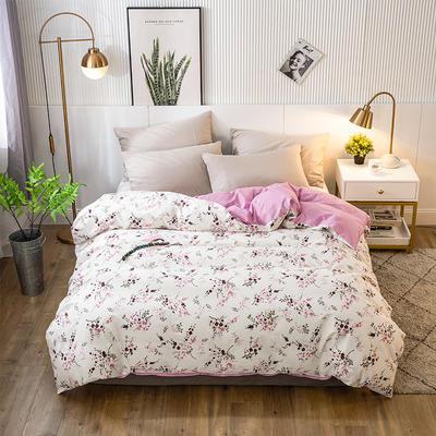 2020年新款-全棉印花单被套 150x200cm 幸福之花