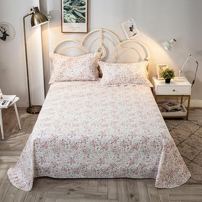 2020年新款-全棉印花单床单 180cmx230cm 爱的时光