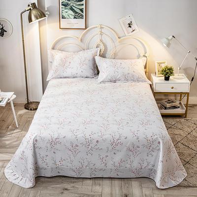 2020年新款-全棉印花单床单 180cmx230cm 安娜-兰