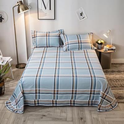 2020年新款-全棉印花单床单 180cmx230cm 格调