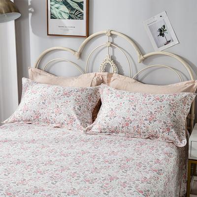 2020年新款-全棉印花单枕套 48cmX74cm/对 爱的时光