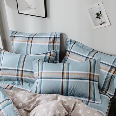 2020年新款-全棉印花单枕套 48cmX74cm/对 格调